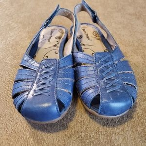 BareTraps Blue Ready Slingback Sandals - Size 6.5